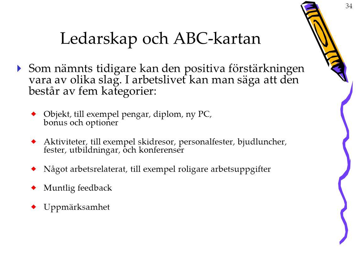 Ledarskap och ABC-kartan