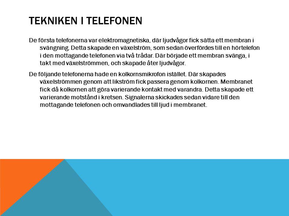 Tekniken i telefonen