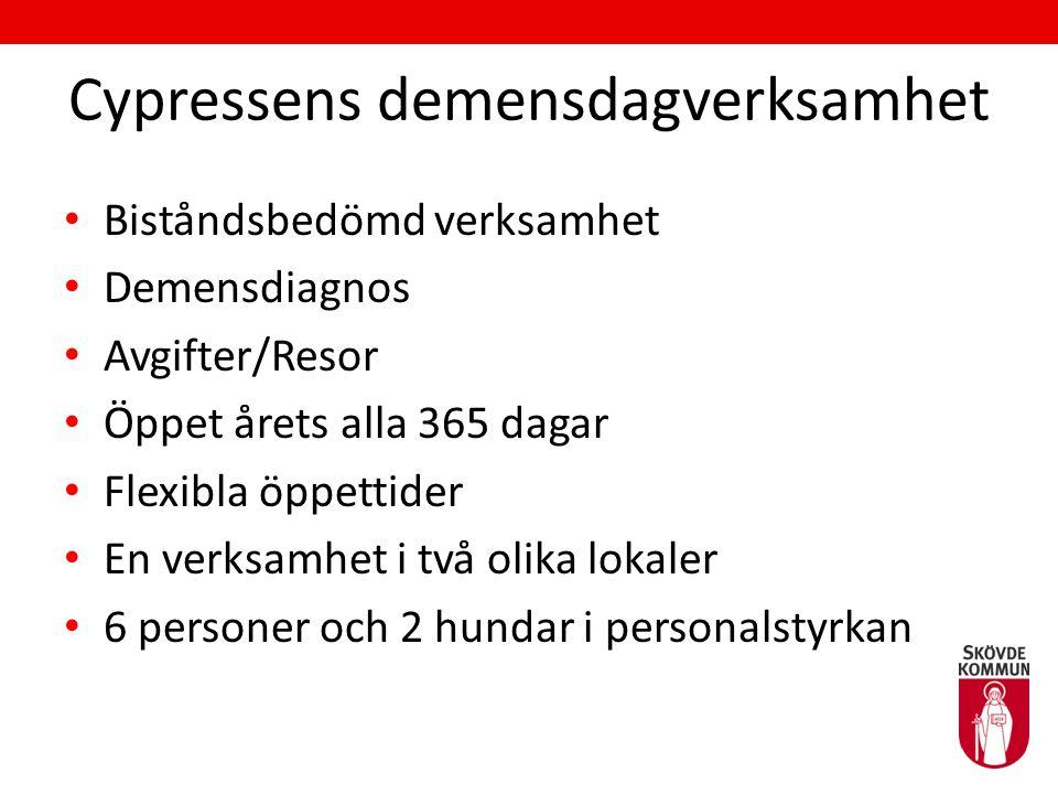 Cypressens demensdagverksamhet