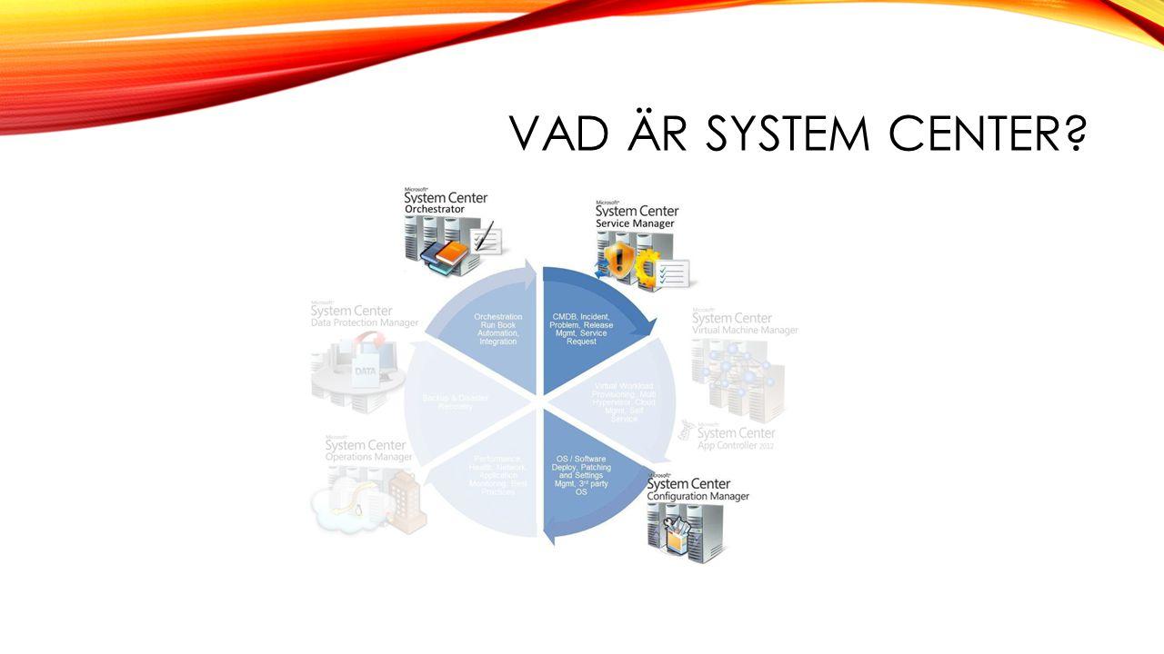 Vad är System Center