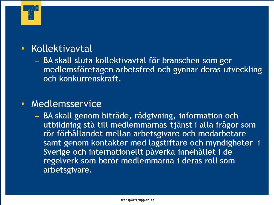 Kollektivavtal Medlemsservice