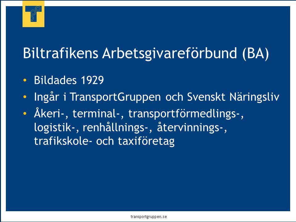 Biltrafikens Arbetsgivareförbund (BA)