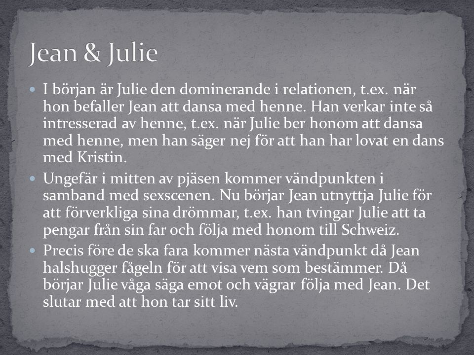 Jean & Julie