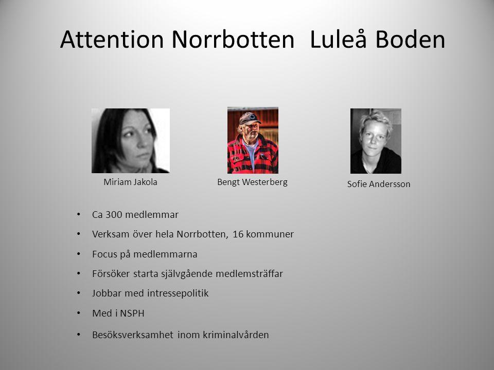 Attention Norrbotten Luleå Boden