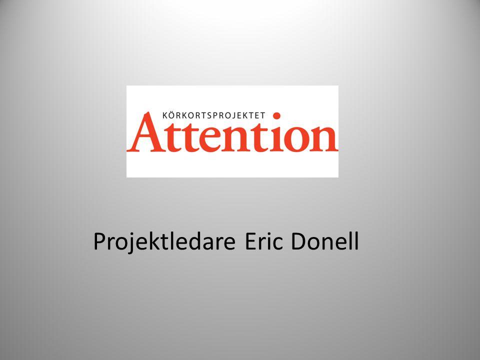 Projektledare Eric Donell