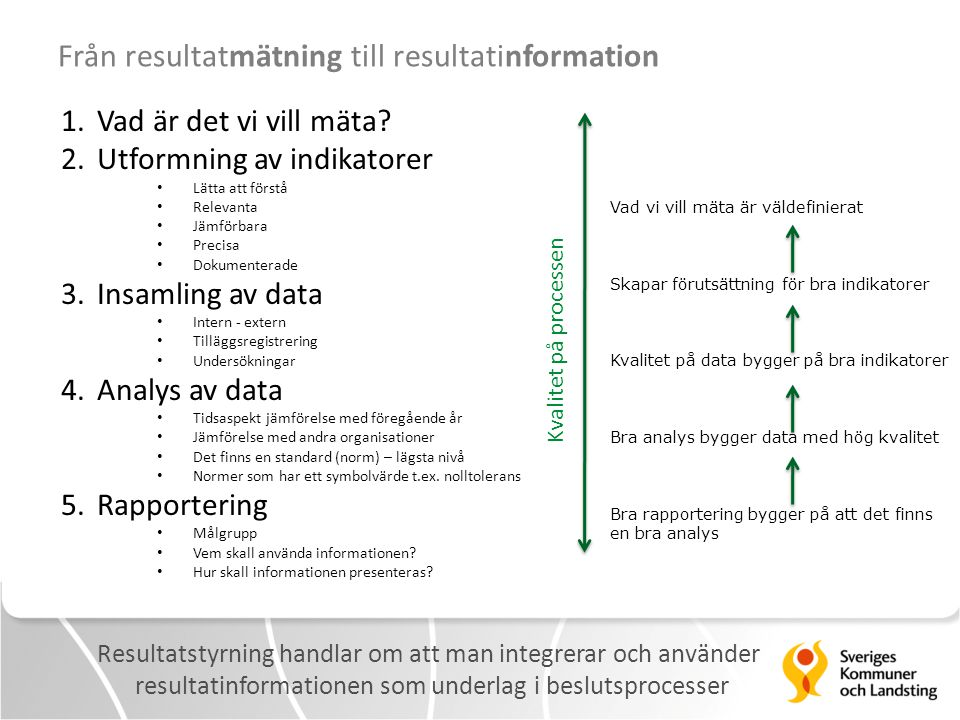 Från resultatmätning till resultatinformation