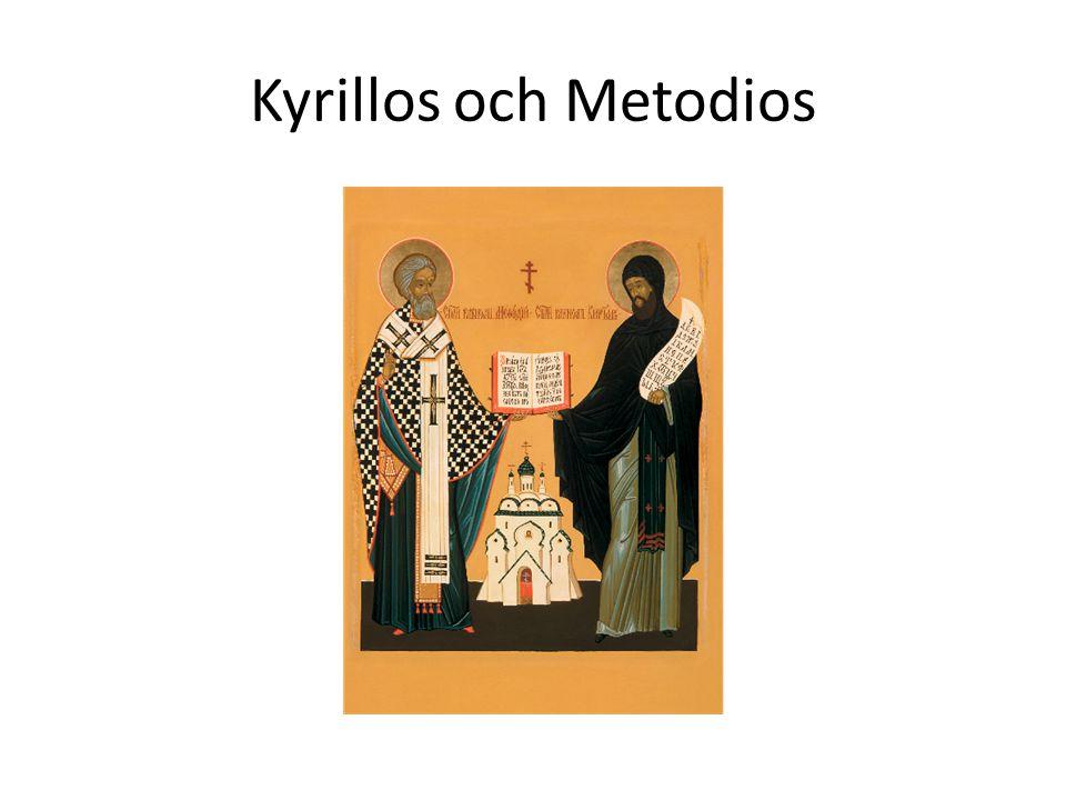 Kyrillos och Metodios