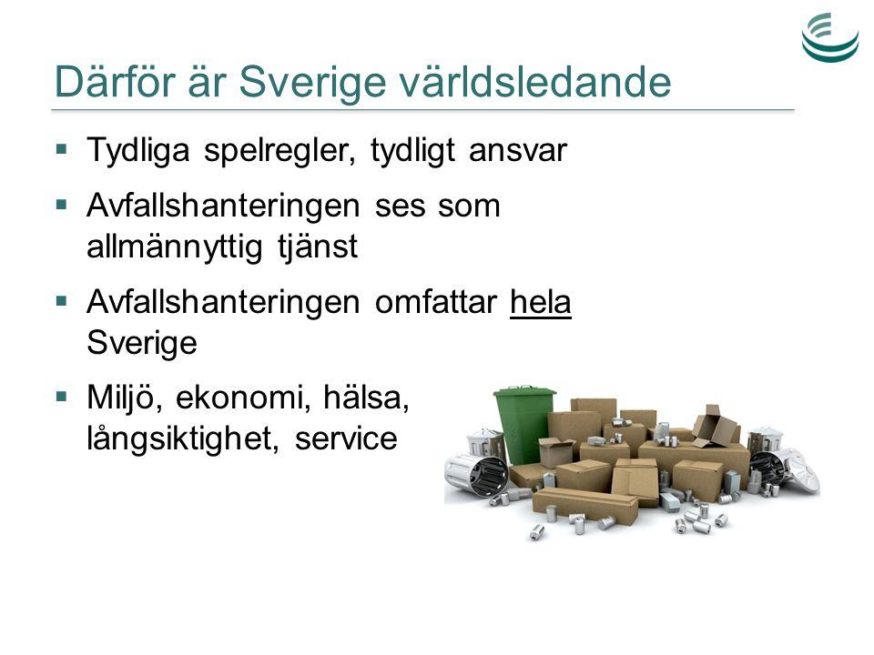 Därför är Sverige världsledande