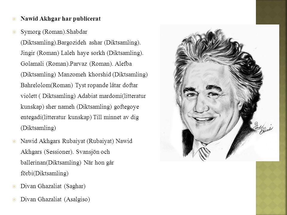 Nawid Akhgar har publicerat