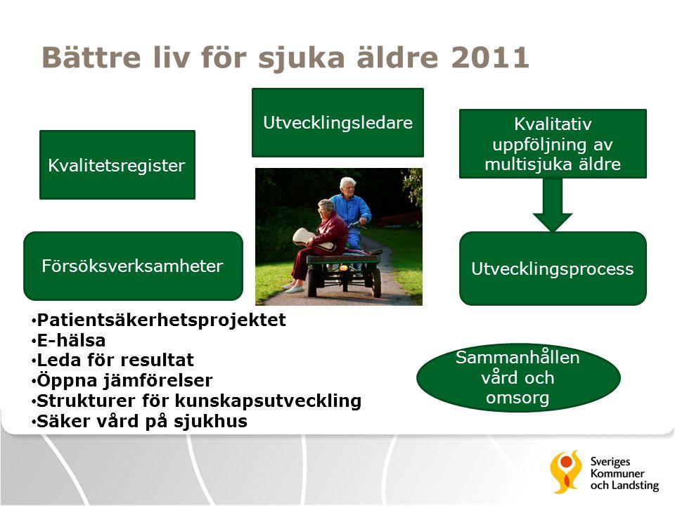 Bättre liv för sjuka äldre 2011
