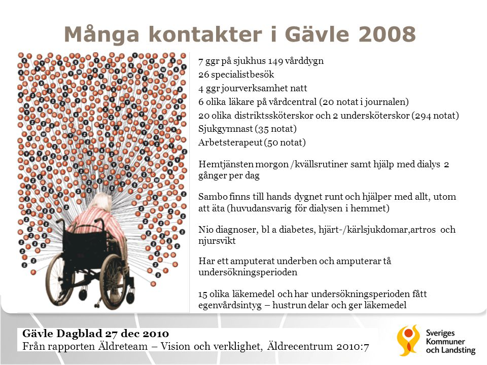 Många kontakter i Gävle 2008
