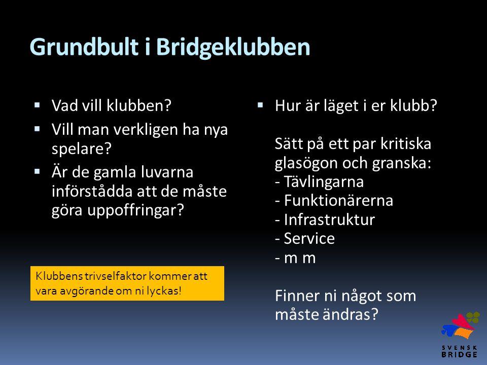 Grundbult i Bridgeklubben