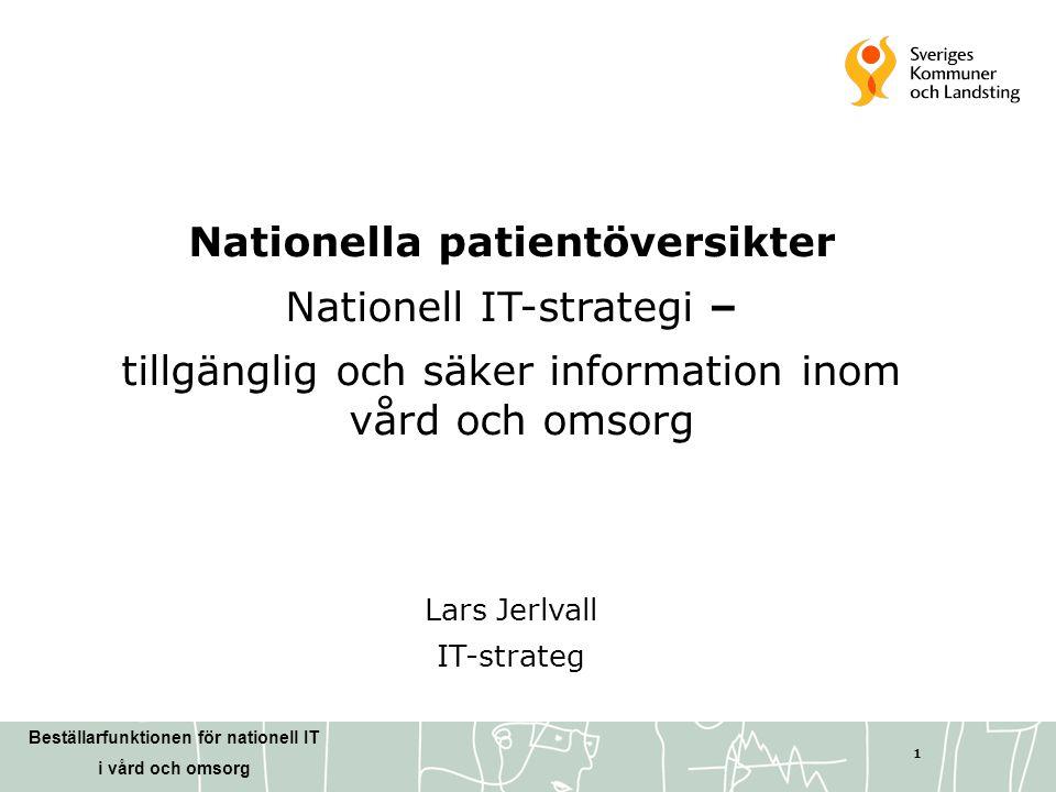 Nationella patientöversikter