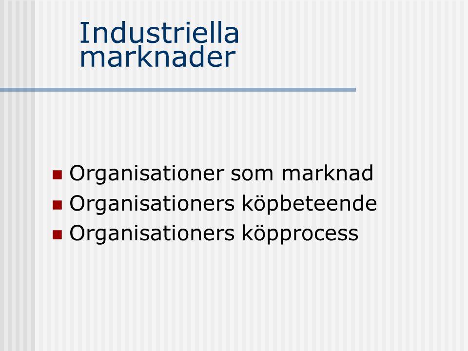 Industriella marknader