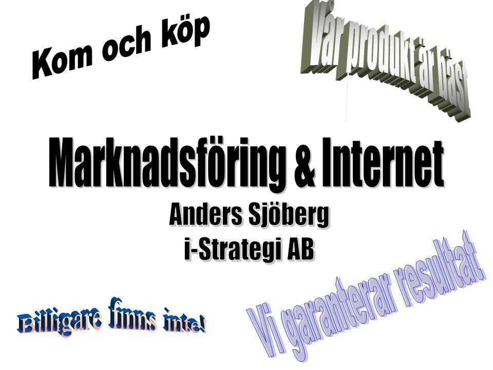 Marknadsföring & Internet