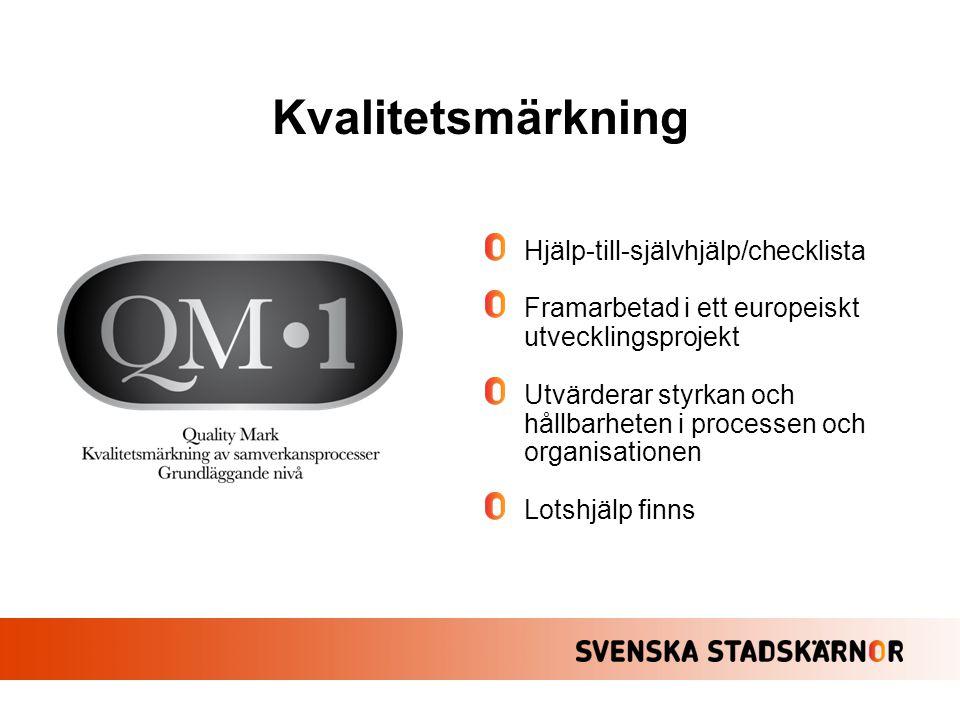 Kvalitetsmärkning Hjälp-till-självhjälp/checklista