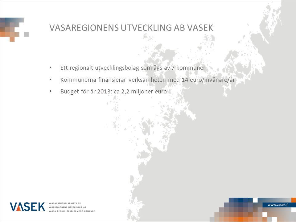VASAREGIONENS UTVECKLING AB VASEK