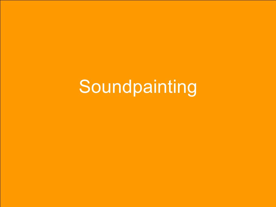 Soundpainting