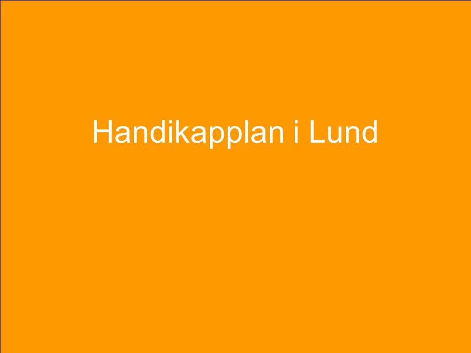 Handikapplan i Lund