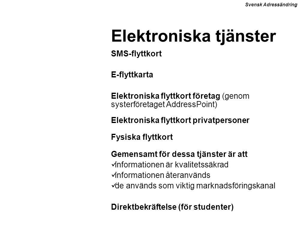 Elektroniska tjänster