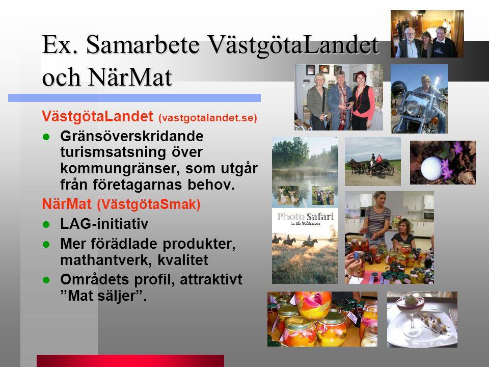Ex. Samarbete VästgötaLandet och NärMat