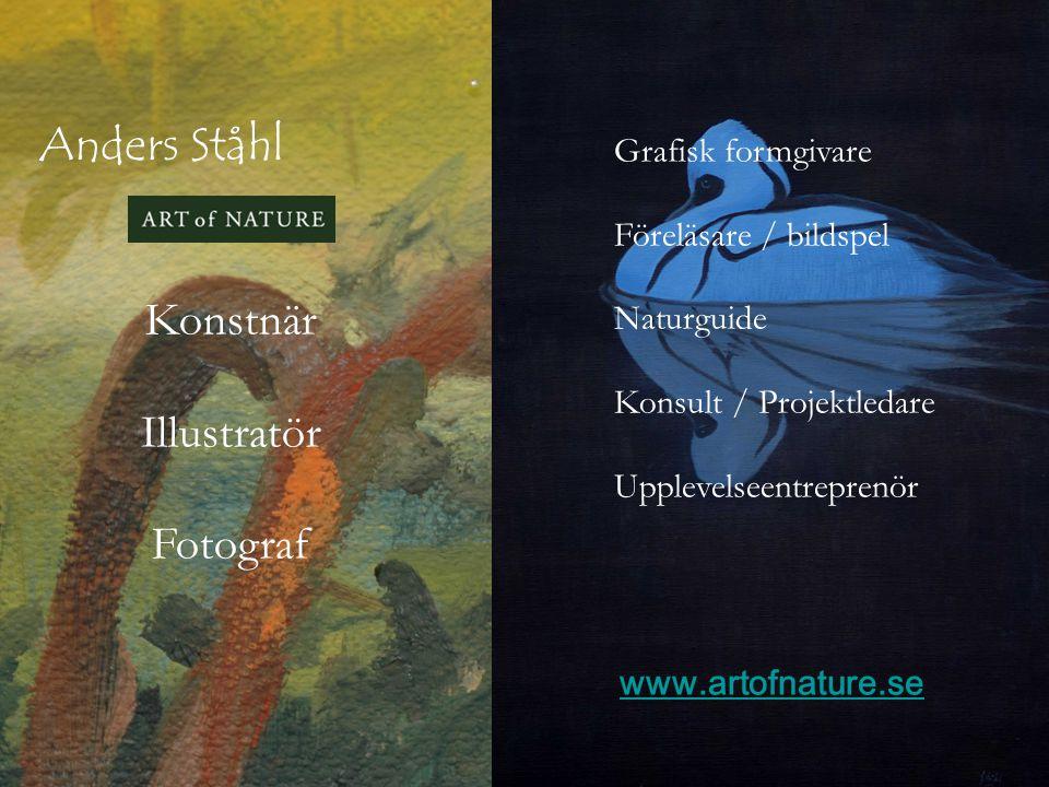 Anders Ståhl Konstnär Illustratör Fotograf Grafisk formgivare
