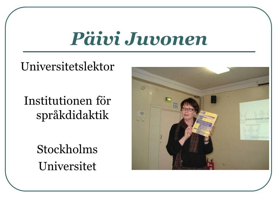 Institutionen för språkdidaktik