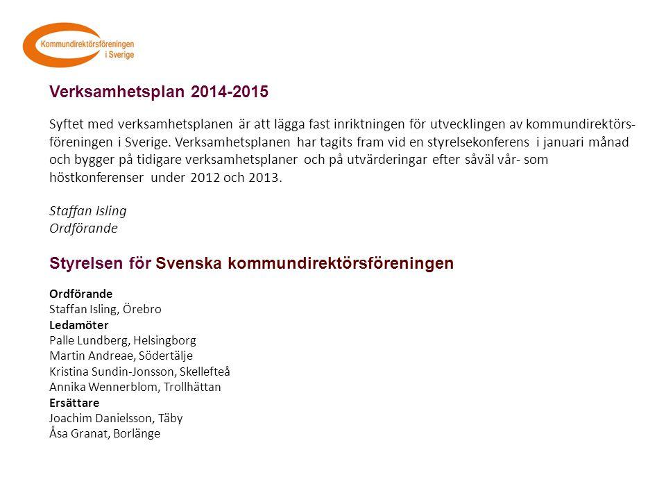 Styrelsen för Svenska kommundirektörsföreningen