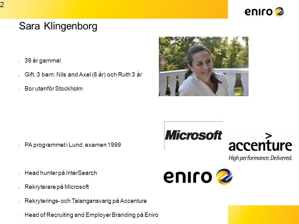 Sara Klingenborg 2 39 år gammal