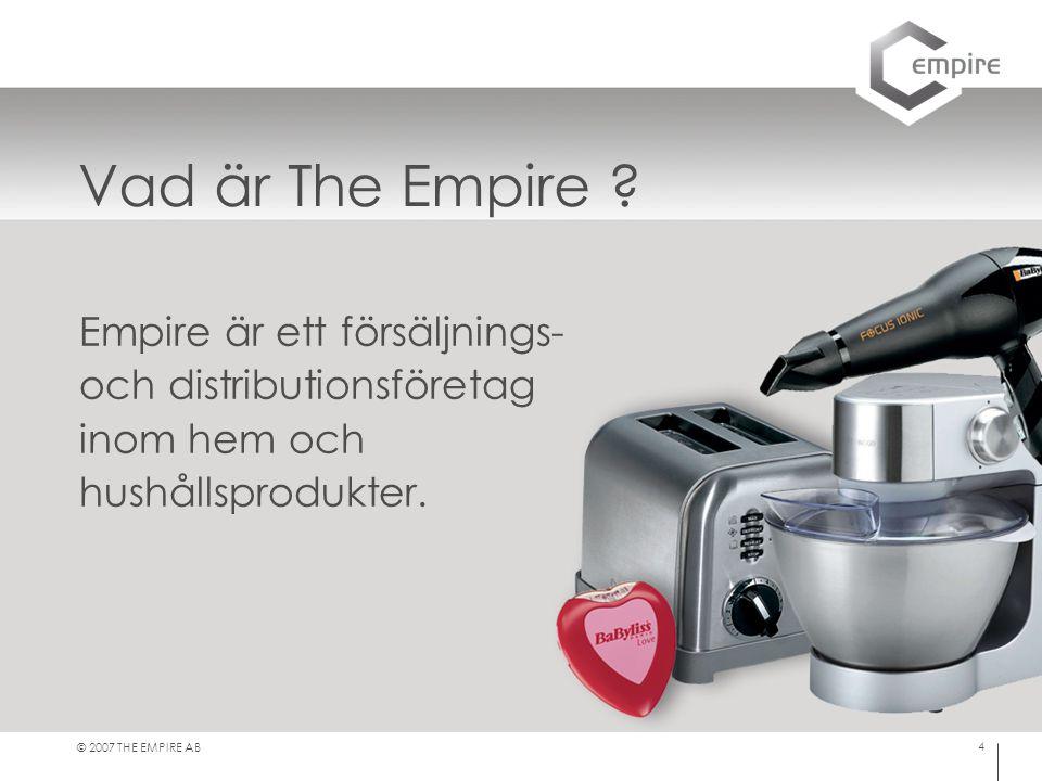 Vad är The Empire Empire är ett försäljnings-