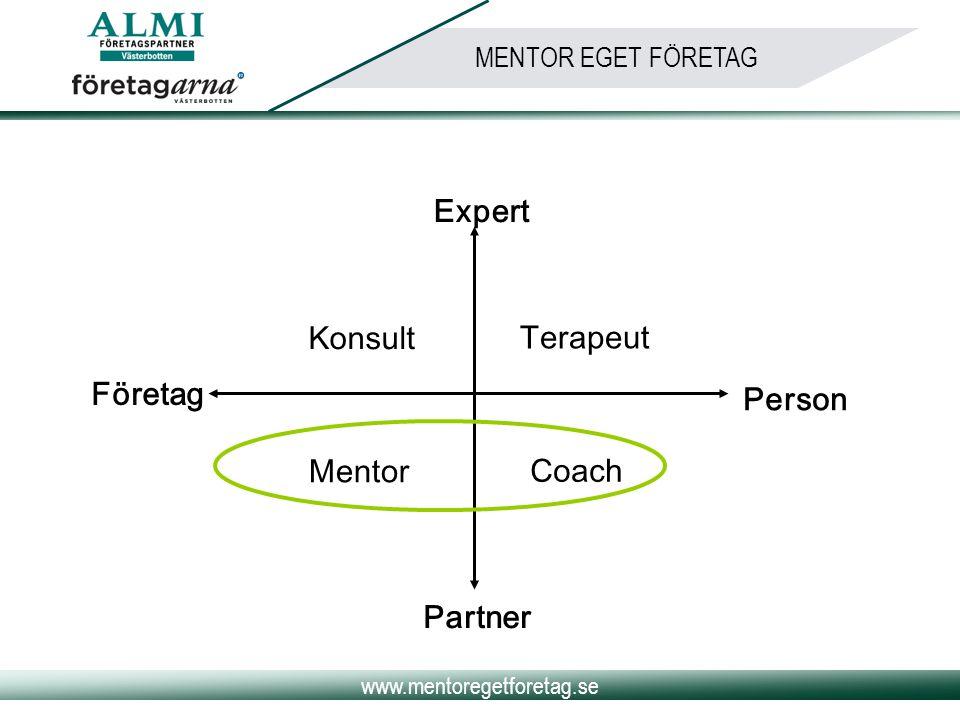 Partner Företag Konsult Mentor Terapeut Coach Expert Person