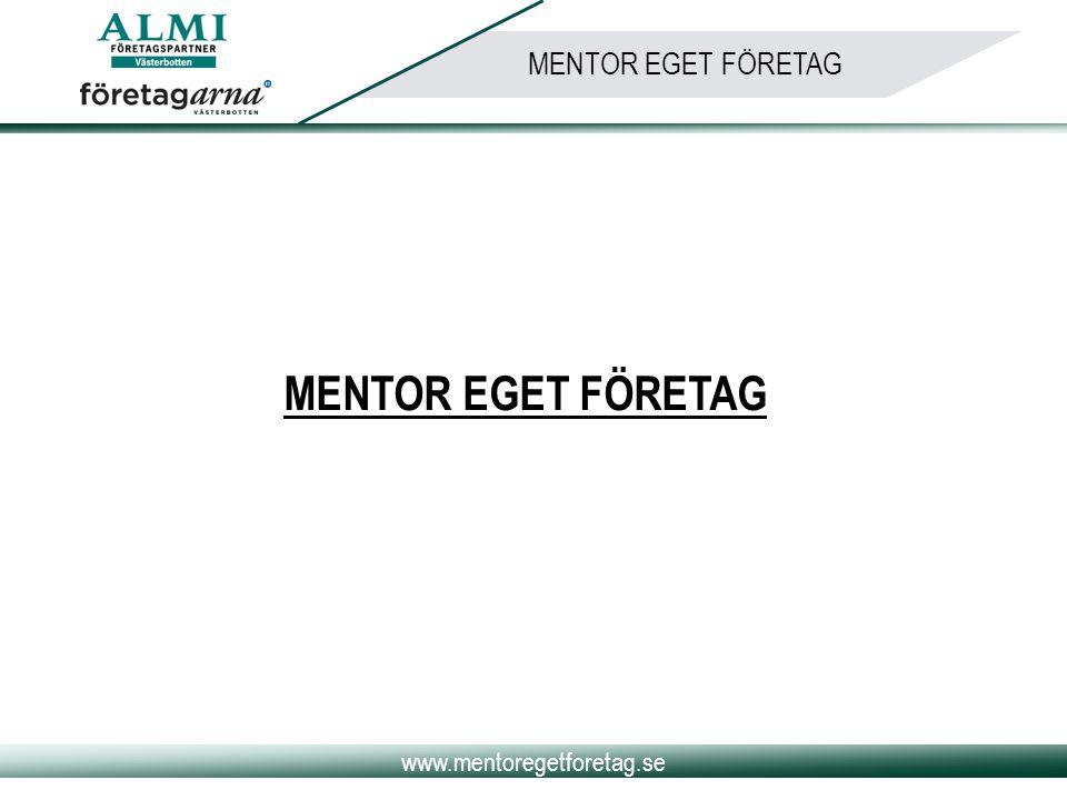 MENTOR EGET FÖRETAG