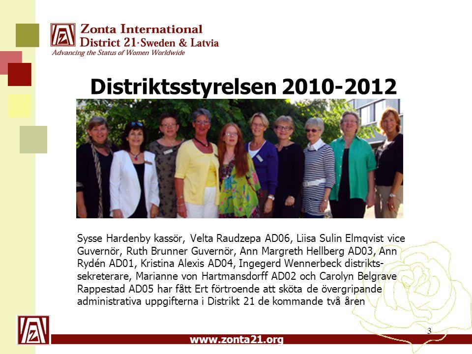 Distriktsstyrelsen 2010-2012