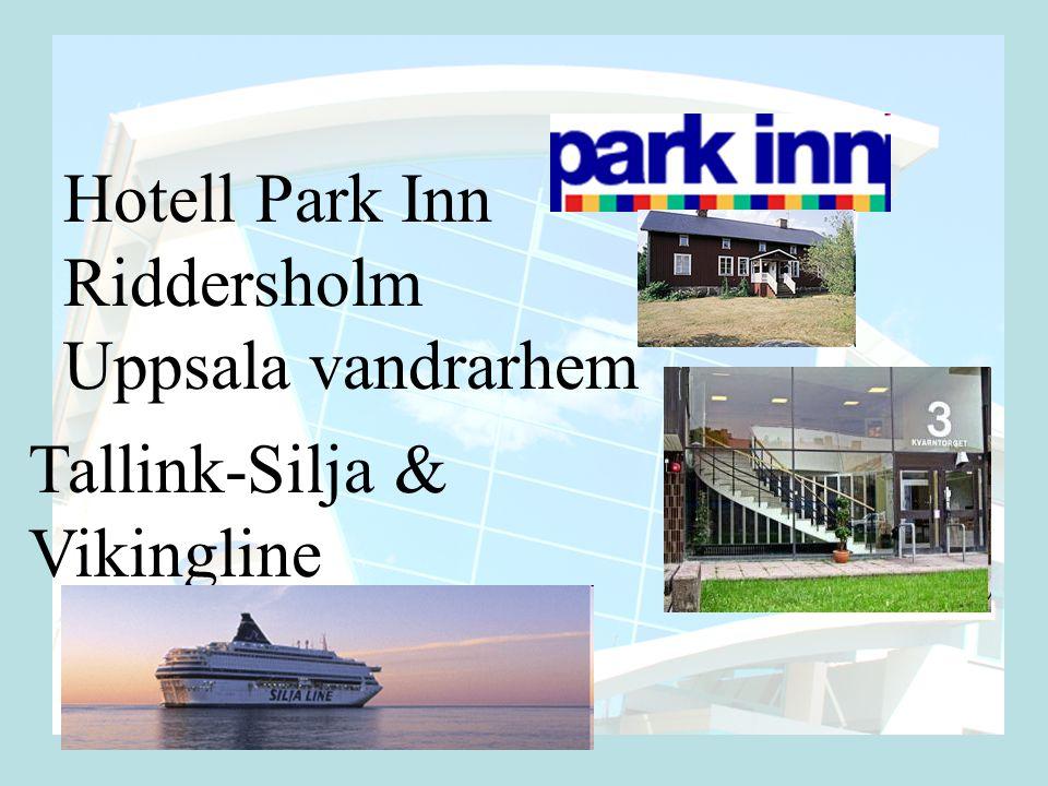 Hotell Park Inn Riddersholm Uppsala vandrarhem