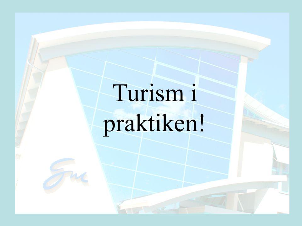 Turism i praktiken!