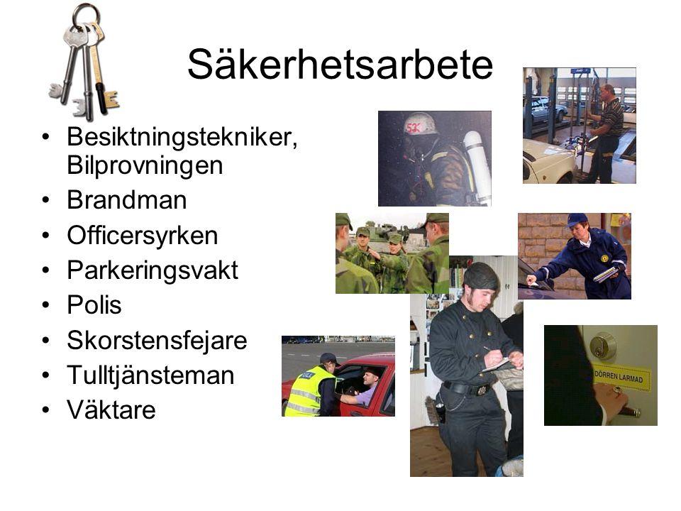 Säkerhetsarbete Besiktningstekniker, Bilprovningen Brandman