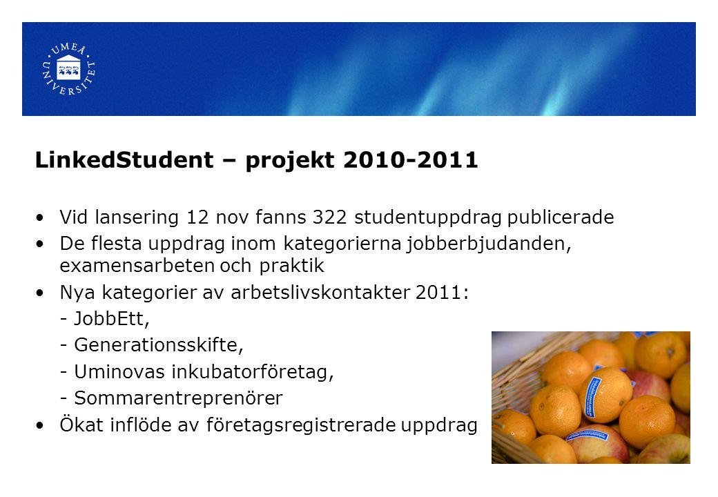 LinkedStudent – projekt 2010-2011