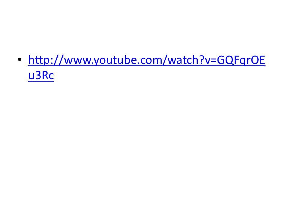http://www.youtube.com/watch v=GQFqrOEu3Rc