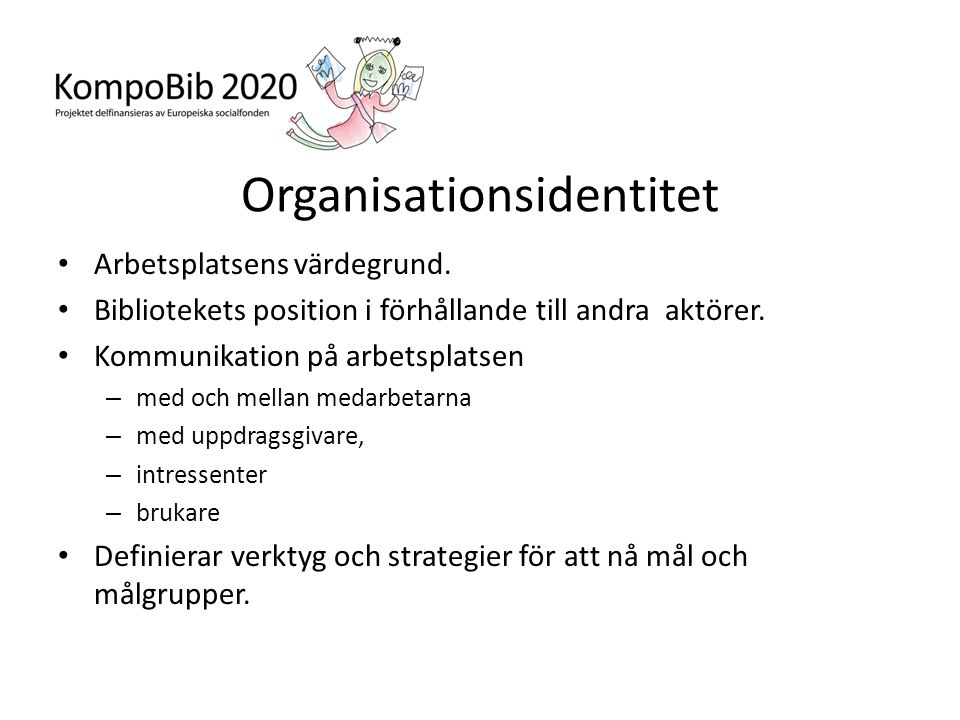 Organisationsidentitet