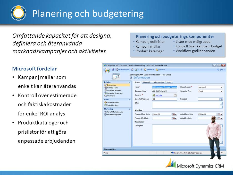 Planering och budgetering