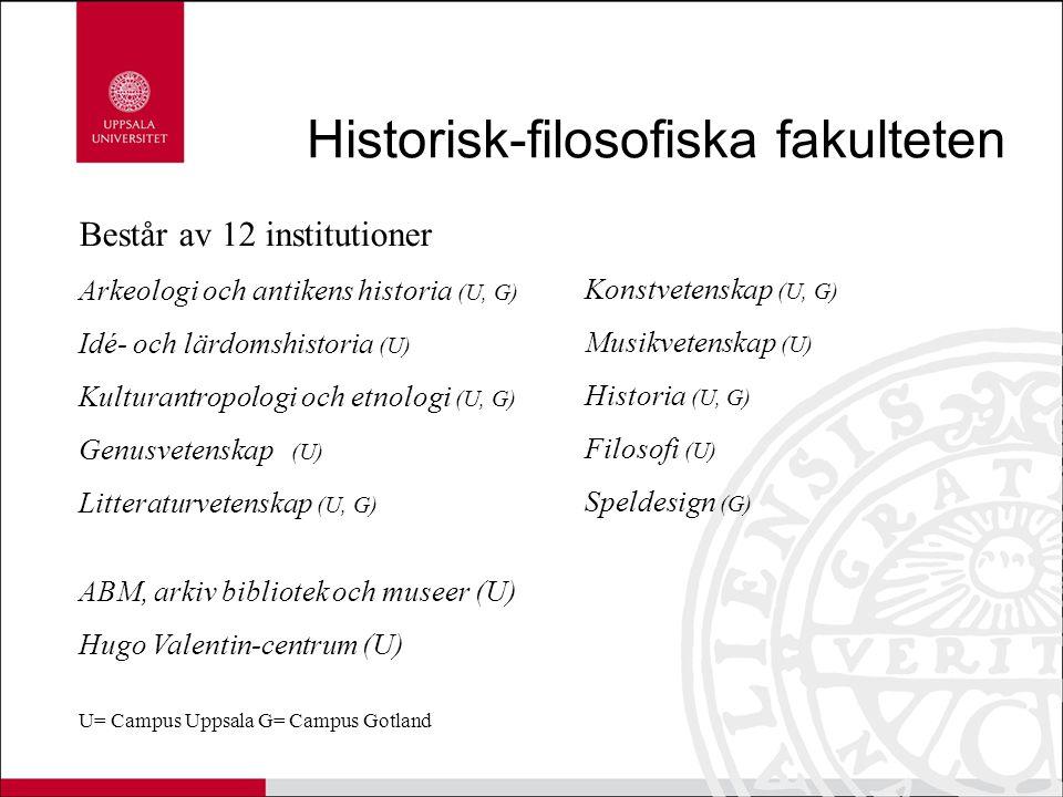 Historisk-filosofiska fakulteten