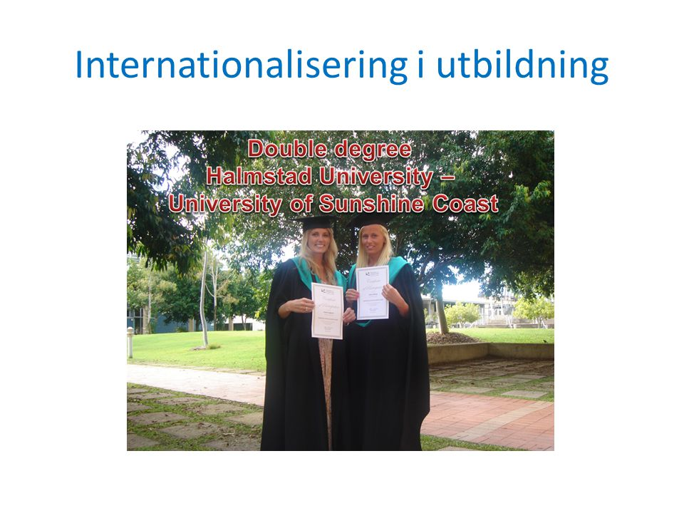 Internationalisering i utbildning