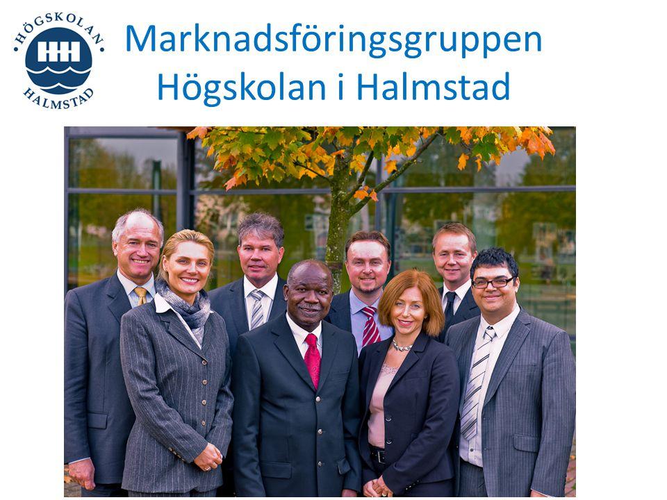 Marknadsföringsgruppen Högskolan i Halmstad