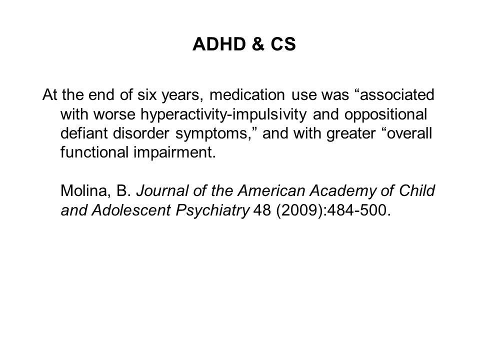 ADHD & CS