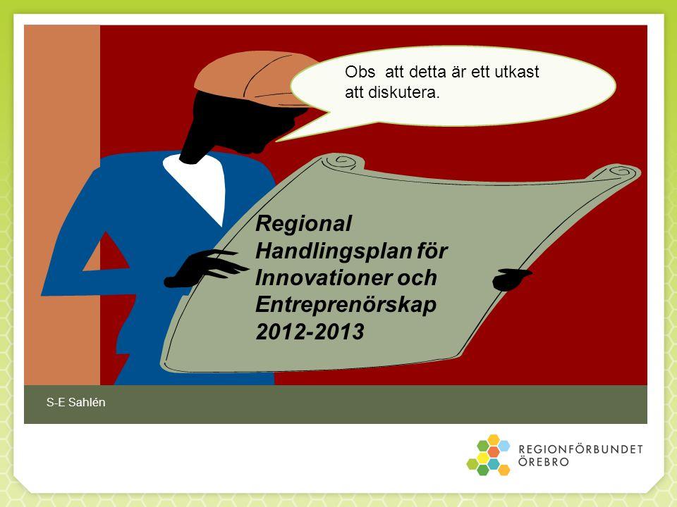 Regional Handlingsplan för Innovationer och Entreprenörskap 2012-2013