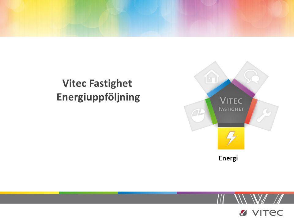 Vitec Fastighet Energiuppföljning