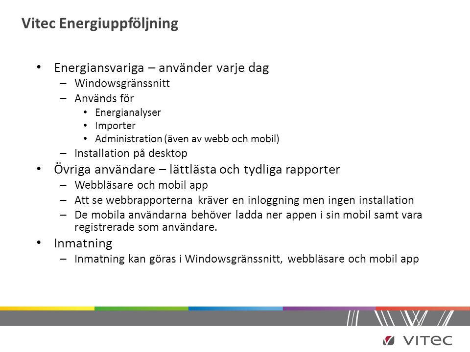 Vitec Energiuppföljning