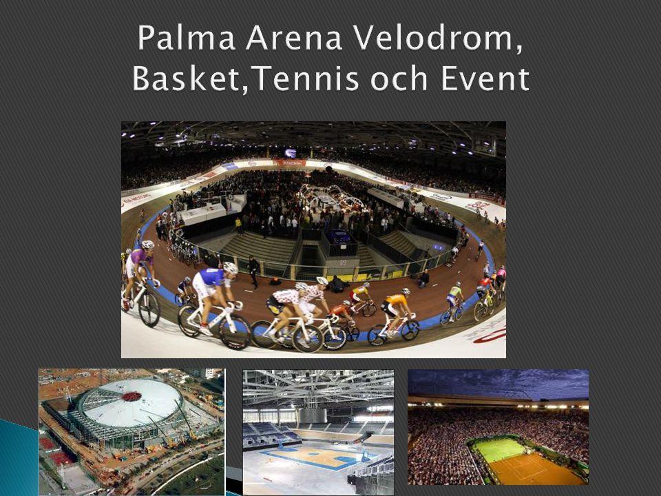 Palma Arena Velodrom, Basket,Tennis och Event