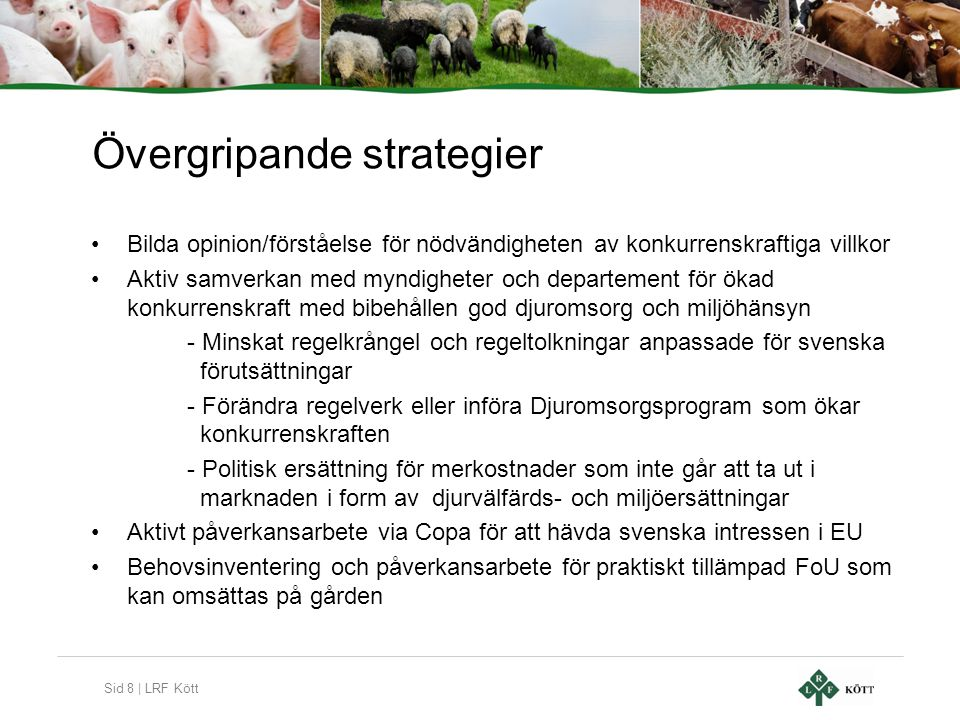 Övergripande strategier