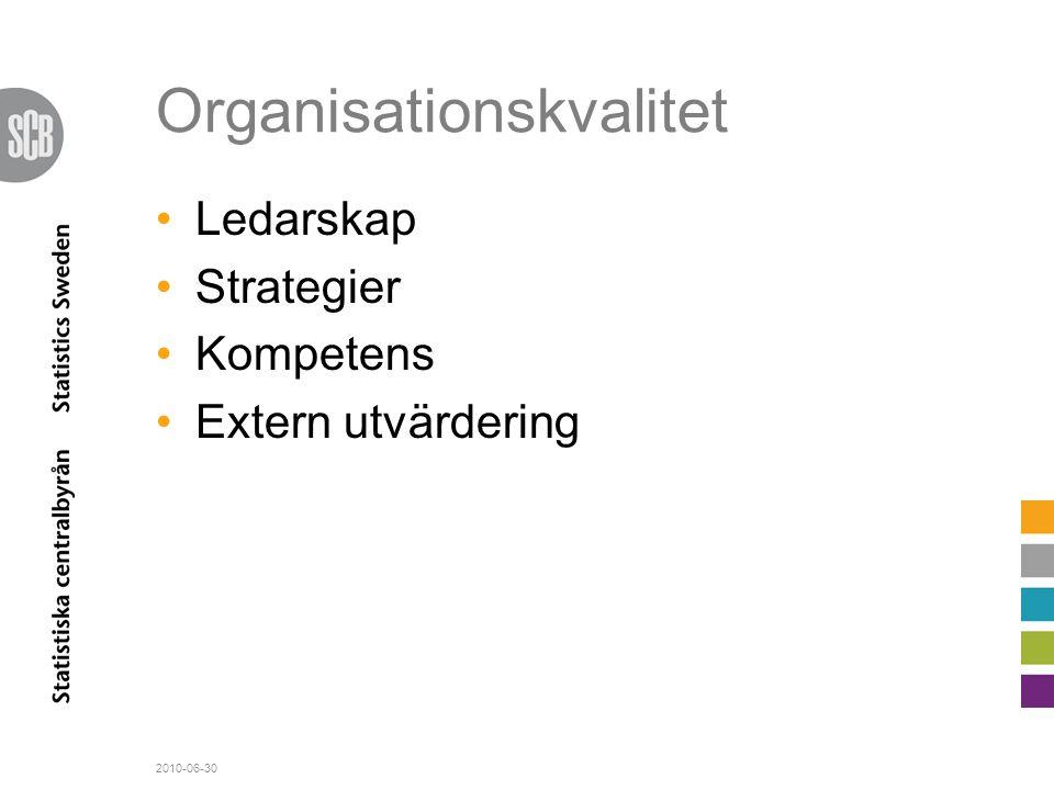 Organisationskvalitet